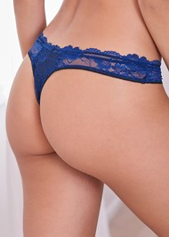 Alternate View Unlined Lace Bra/Panty Set