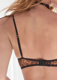 Alternate View Animal Print Bra
