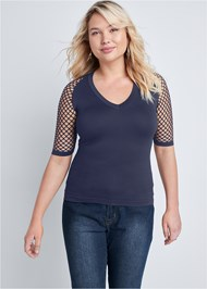 Front View Seamless Top