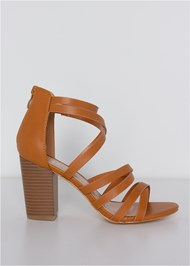 Alternate View Strappy Block Heels