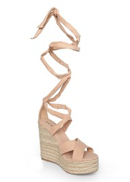 Shoe series side view Wrap Around Wedges