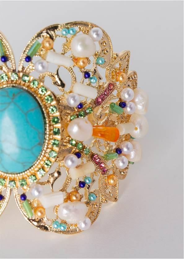 Detail  view Beaded Cuff Bracelet