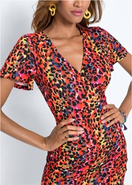 Detail  view Leopard Printed Dress