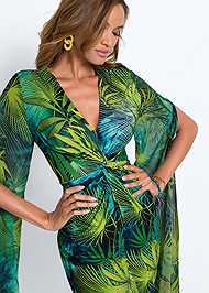 Detail  view Exaggerated Sleeve Dress