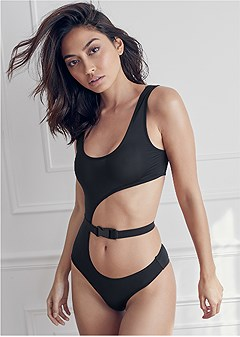 side cut out bodysuit