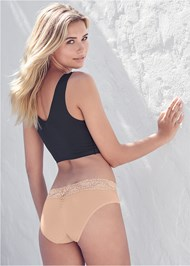 Back View 2Pk Wire-Free Comfort Bra