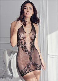 Cropped front view Ultra Stretch Chemise