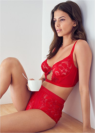 Unlined Bra Panty Set