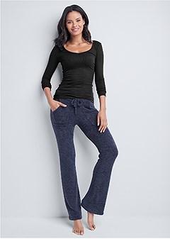 cozy drawstring pants