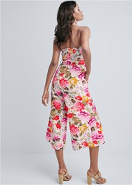 Alternate View Floral Strapless Jumpsuit