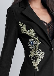 Alternate View Embroidered Blazer