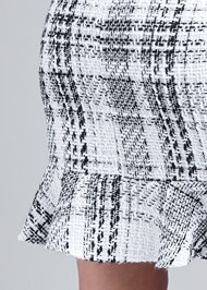 Alternate View Pearl Detail Tweed Dress