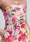 Alternate View Floral Strapless Jumpsuit