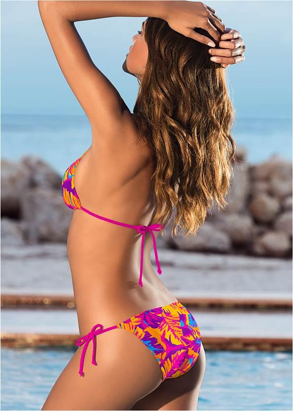 Full back view String Side Bikini Bottom