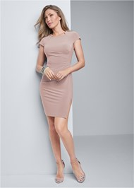 Alternate View Ruched Dress