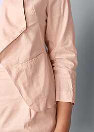 Alternate View Linen Blazer