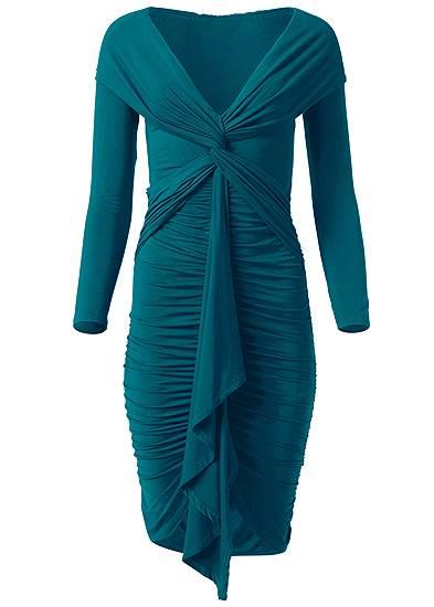 Plus Size Twist Detail Bodycon Dress
