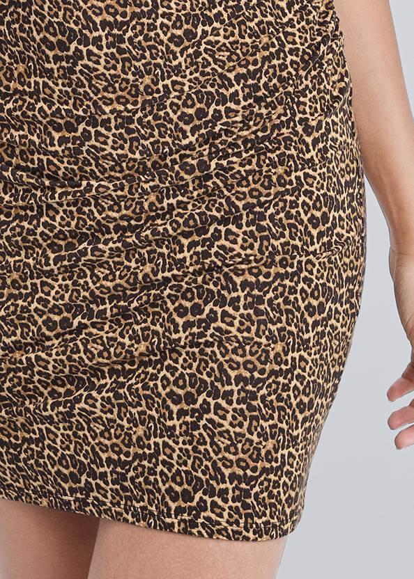 Alternate View V-Neck T-Shirt Dress