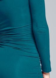 Alternate View Twist Detail Bodycon Dress