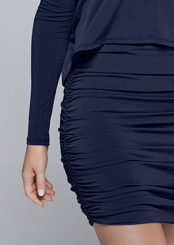 Alternate View Overlay Detail Casual Dress