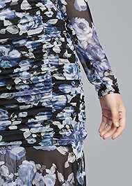 Alternate View Off Shoulder Floral Dress