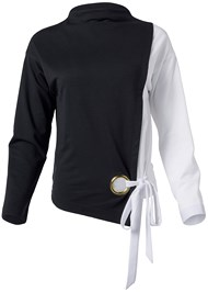 Alternate View Color Block Sweatshirt