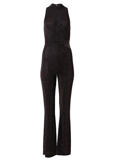 Plus Size Shimmer Jumpsuit