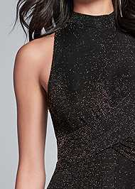Detail front view Shimmer Jumpsuit