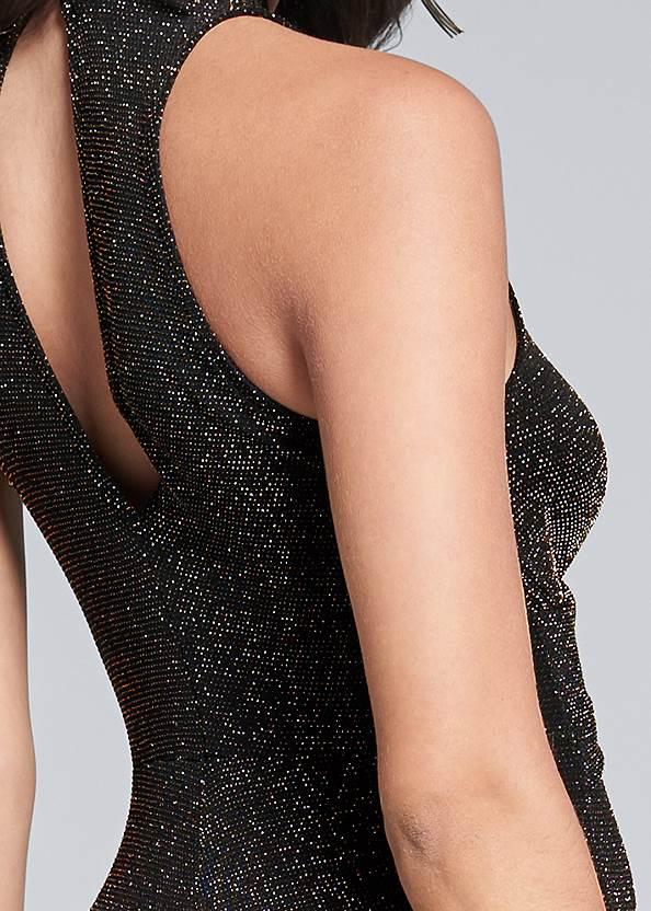 Alternate View Shimmer Jumpsuit