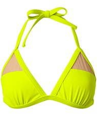 Ghost with background  view Sports Illustrated Swim™ Mesh Panel Triangle Top