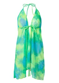 Ghost with background  view Sports Illustrated Swim™ Mesh Tie Front Cover-Up
