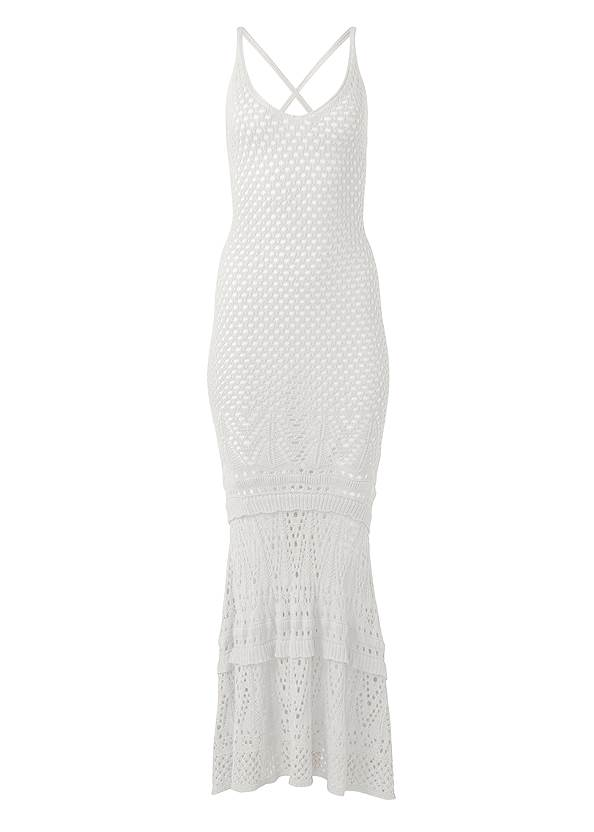 Ghost with background  view Crochet Tank Maxi Dress