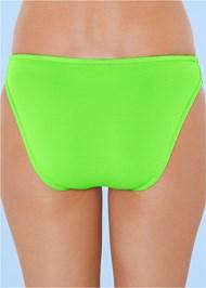 Detail back view Scoop Front Classic Bikini Bottom