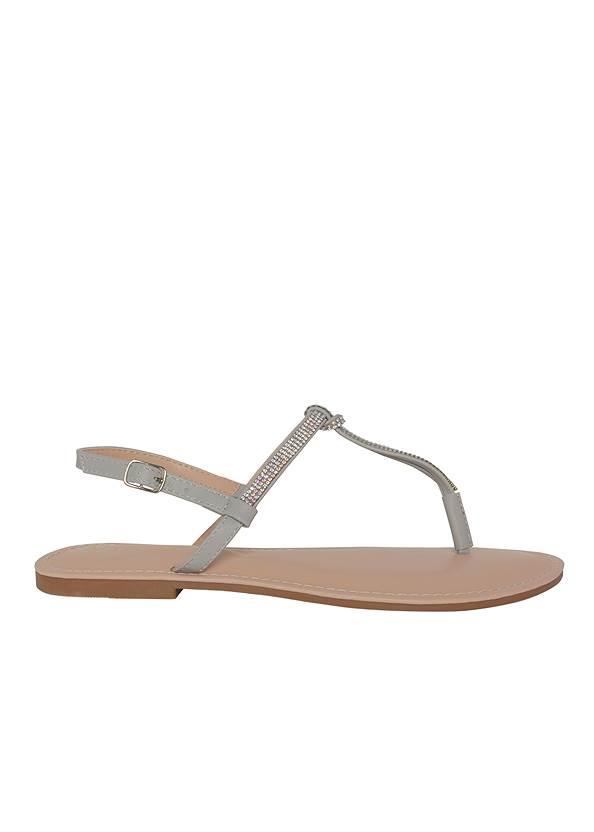 Alternate View Rhinestone Thong Sandals