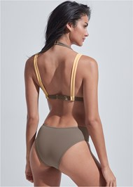 Back View Sports Illustrated Swim™ Brazilian Bralette