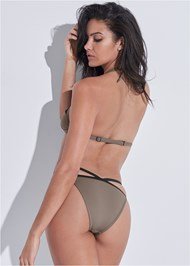 Back View Sports Illustrated Swim™ Strappy Banded Bottom