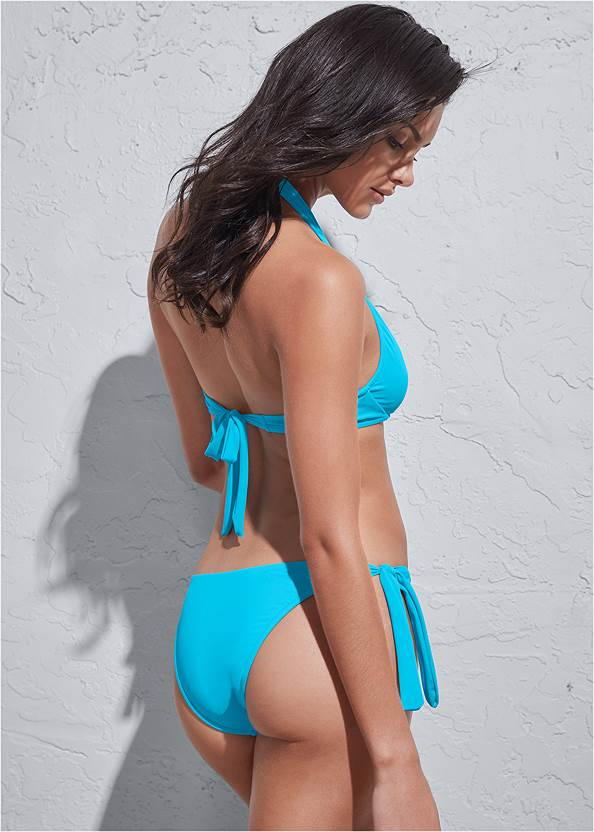 Back View Sports Illustrated Swim™ Continuous Underwire Bra Top