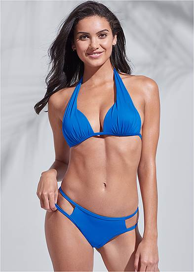 Plus Size Sports Illustrated Swim™ Cut Out Sides Bottom