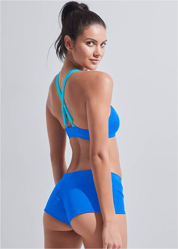 Back View Sports Illustrated Swim™ Cheeky Short