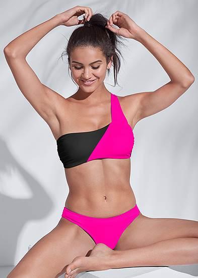 Sports Illustrated Swim™ One Shoulder Bandeau Top
