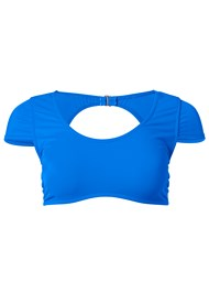 Alternate View Sports Illustrated Swim™ Cap Sleeve Crop Top