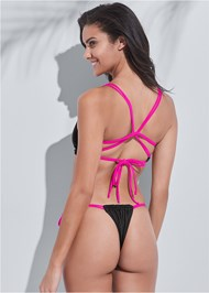 Full back view Sports Illustrated Swim™ Micro Adjustable Bottom