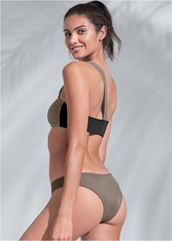 Full back view Sports Illustrated Swim™ Low Rise Brief Bottom