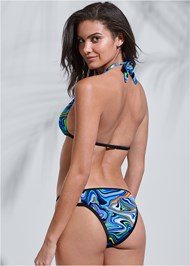Full back view Sports Illustrated Swim™ Cut Out Sides Bottom