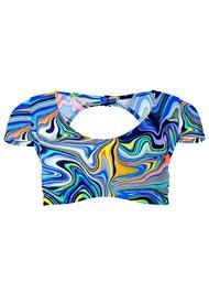 Alternate View Sports Illustrated Swim™ Cap Sleeve Crop Top