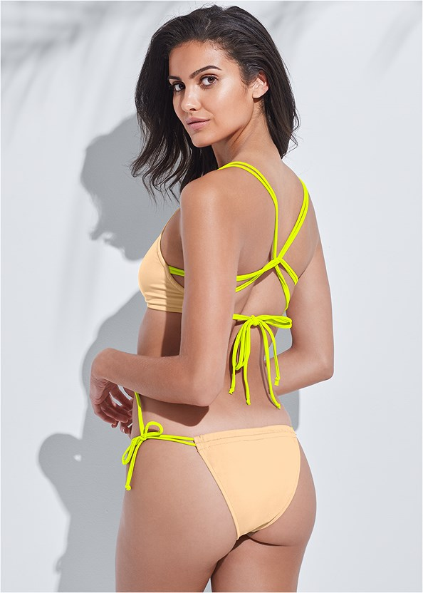 Sports Illustrated Swim™ Party In The Back Sport Top,Sports Illustrated Swim™ Micro Adjustable Bottom,Sports Illustrated Swim™ Strappy Banded Bottom,Sports Illustrated Swim™ Low Rise Brief,Sports Illustrated Swim™ Tie Side String Bottom