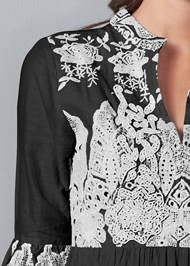 Alternate View Embroidered Detail Dress