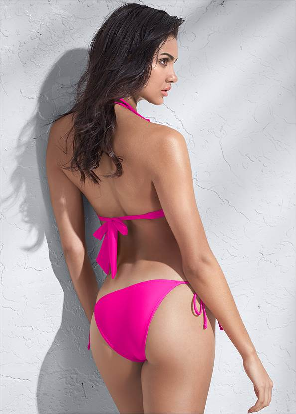 Full back view Sports Illustrated Swim™ Double Strap Triangle Top