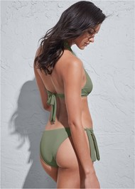 Full back view Sports Illustrated Swim™ Sash Tie Side Bottom