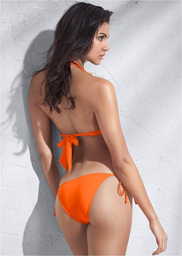 Full back view Sports Illustrated Swim™ Tie Side String Bottom